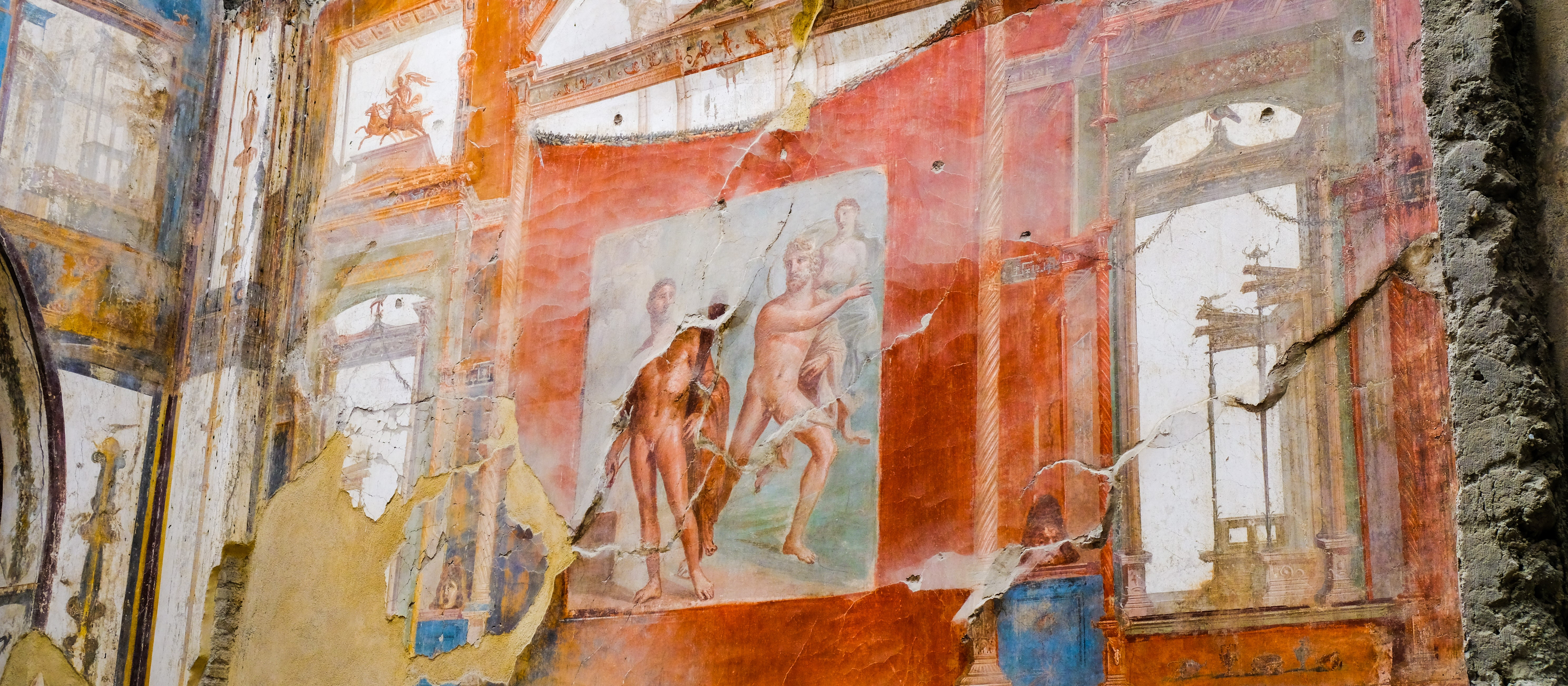 Fresco at Herculaneum